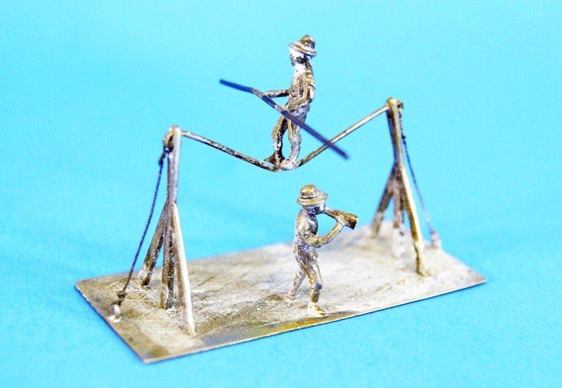 Five Dutch Silver Miniatures - 3