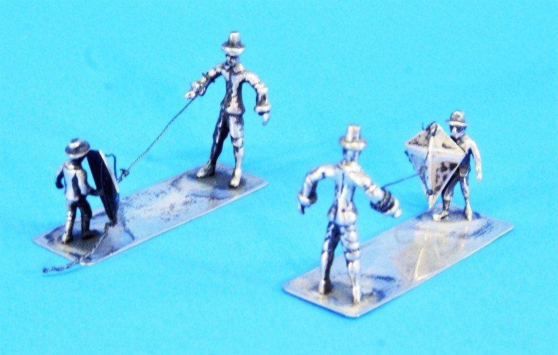 Five Dutch Silver Miniatures - 5