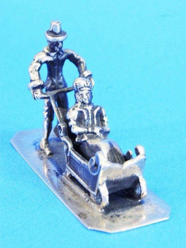 Six Dutch Silver Miniatures - 4