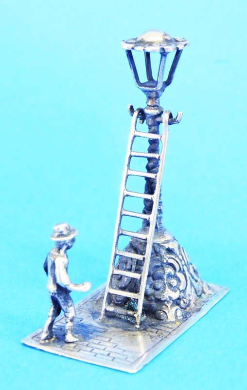 Six Dutch Silver Miniatures - 7