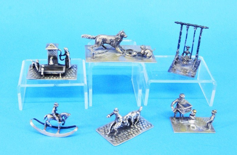 Dutch Silver and Silver Plate Miniatures