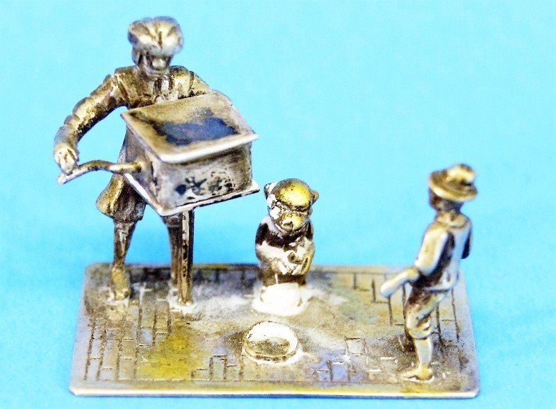 Dutch Silver and Silver Plate Miniatures - 4