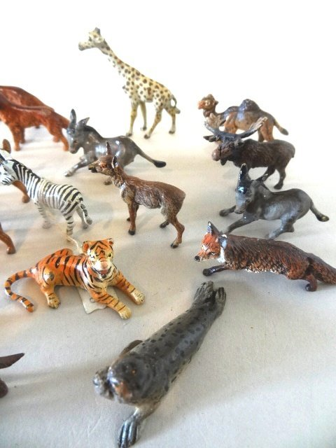 Miniature Vienna Bronze Animals and Others - 3