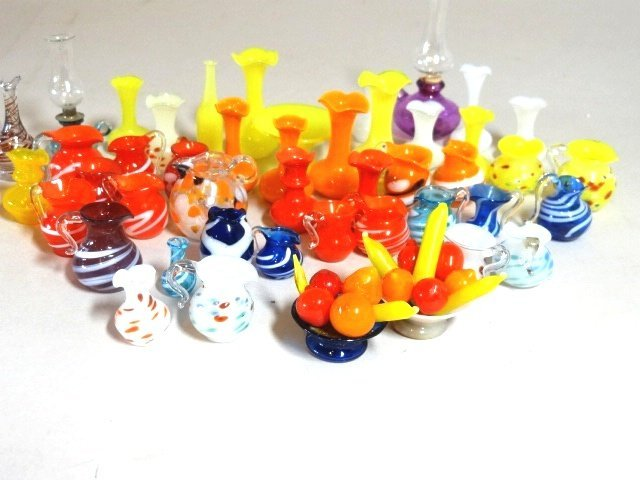 Miniature Art and Blown Glass Collection