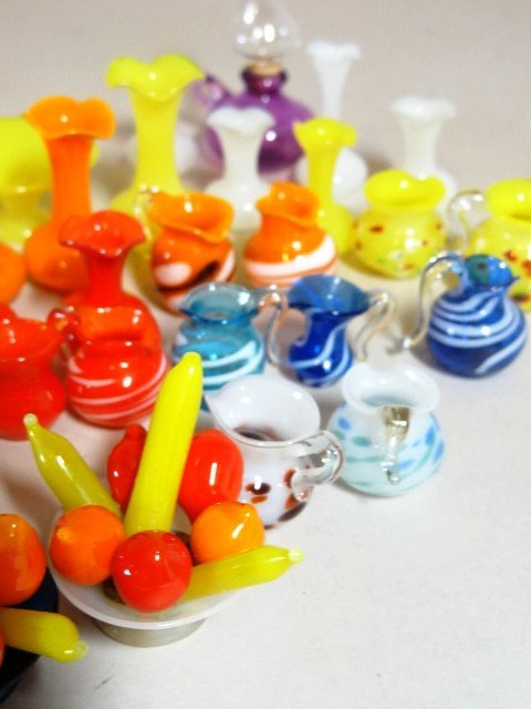 Miniature Art and Blown Glass Collection - 3
