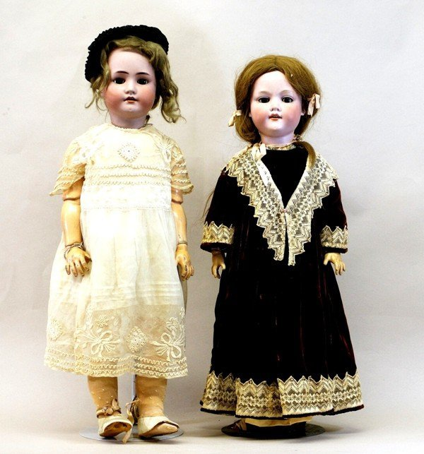 Two German Dolls – AM and Handwerck