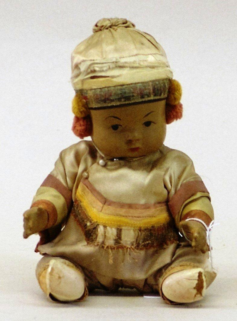 Oriental Baby Doll, Gibbs Horse Cart - 3