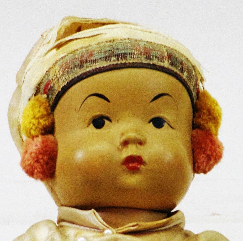 Oriental Baby Doll, Gibbs Horse Cart - 4