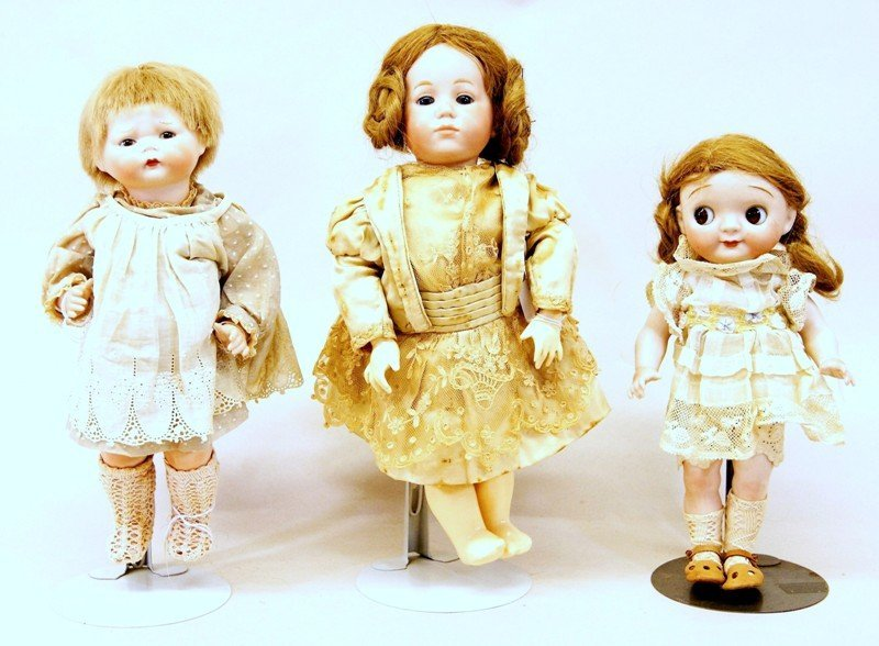 Three Artist Dolls