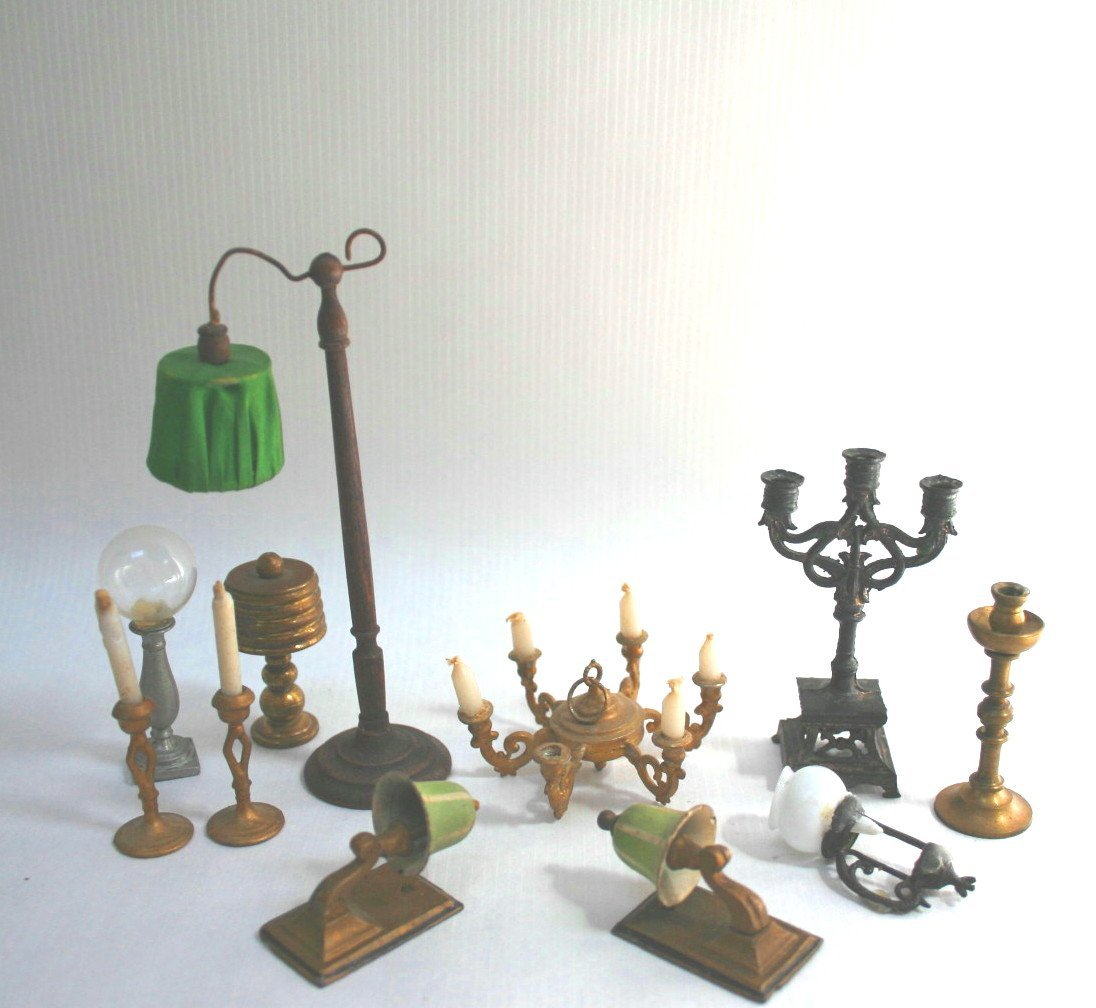 Antique and Vintage Lamps