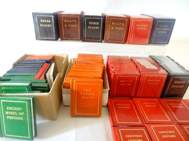 Dollhouse Miniature Books Black Cat Press