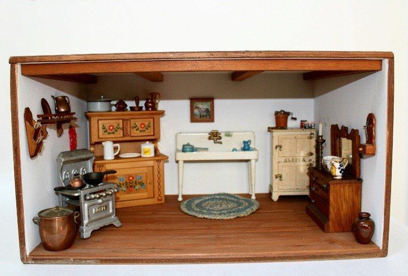 Vintage Kitchen Roombox