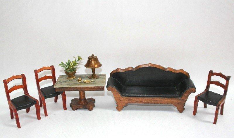 Dollhouse Miniature Tynietoy Victorian Suite