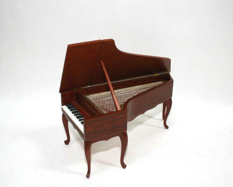 Dollhouse Miniature Ralph Partelow Harpsichord