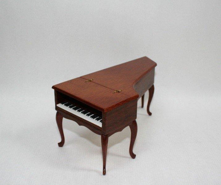 Dollhouse Miniature Ralph Partelow Harpsichord - 2