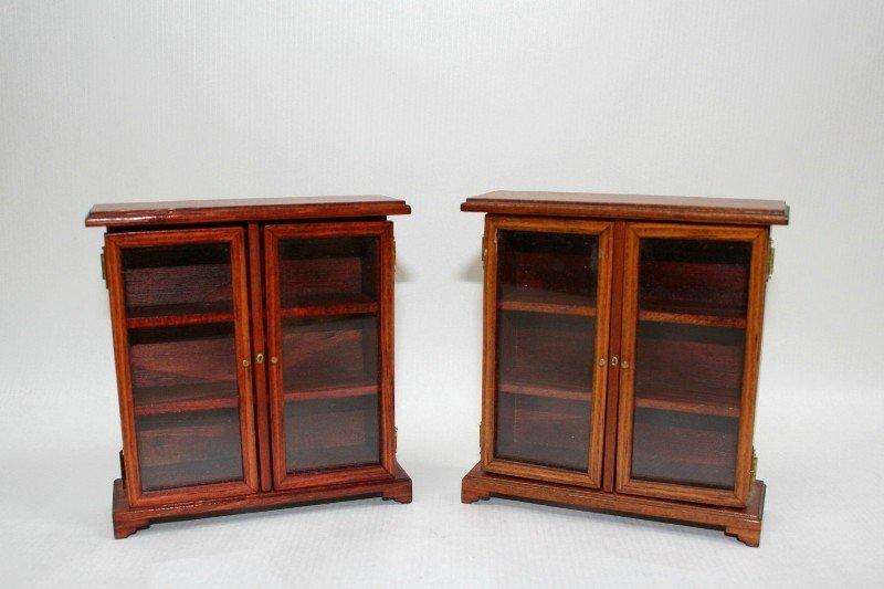 Dollhouse Miniature Ron Stetkowicz Bookcases