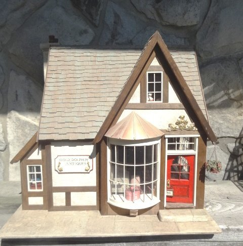 Golden Dolphin Antiques Dollhouse