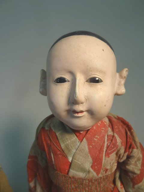 Ichimatsu Gofun Dolls  Showa Period - 3