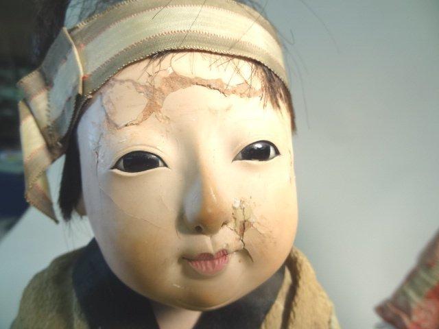Ichimatsu Gofun Dolls  Showa Period - 5