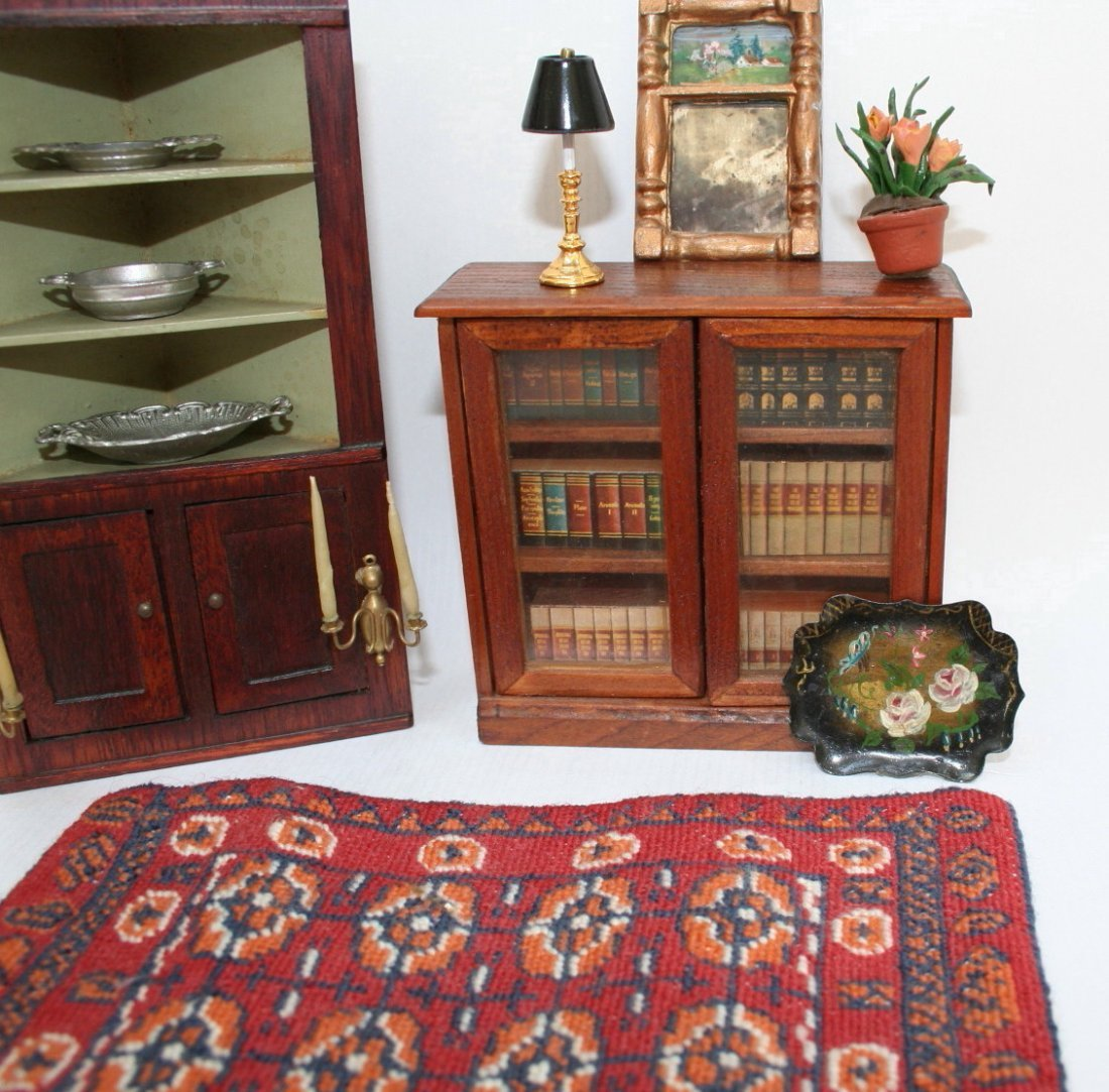 Dollhouse Miniature Chestnut Hill Cupboard - 3