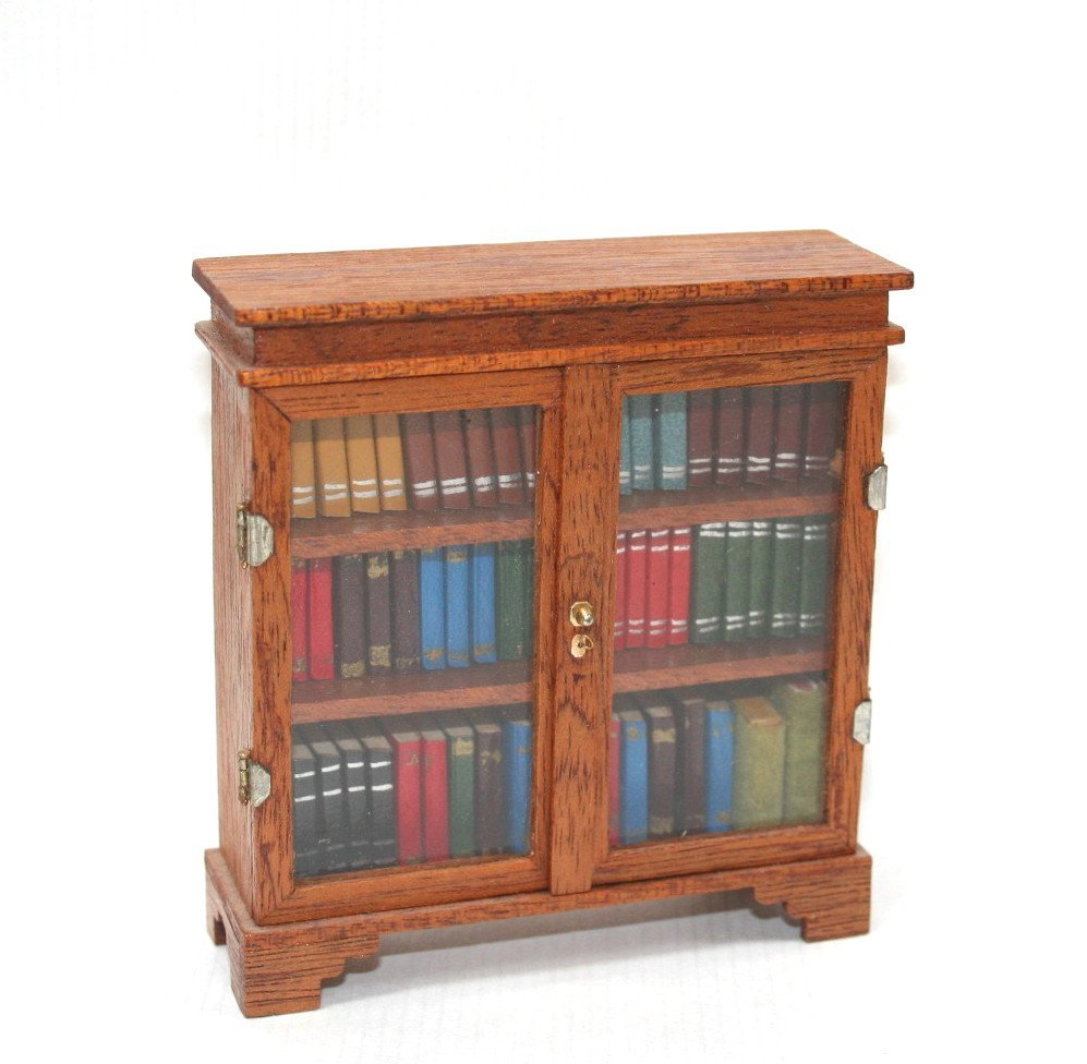 Artisan Bookcase and Porcelain - 4