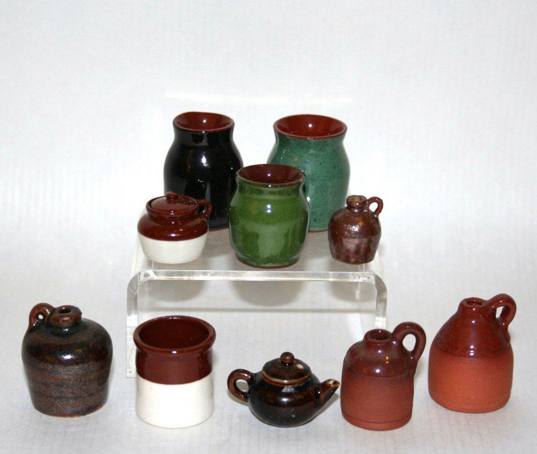 Dollhouse  Miniature Pottery