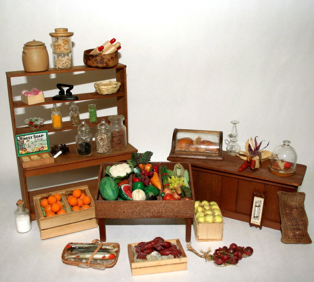 Dollhouse Miniature Country Store Stock
