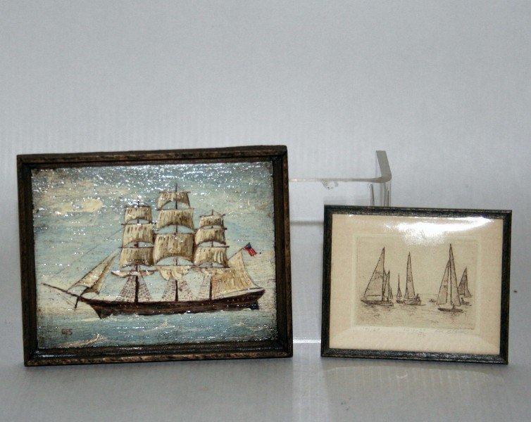 George Schlosser Marine Painting