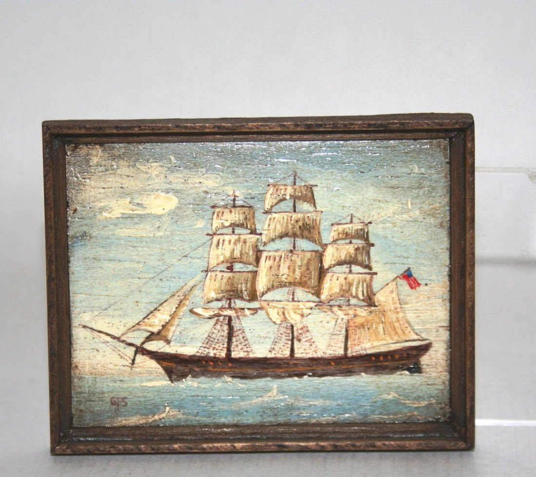 George Schlosser Marine Painting - 2