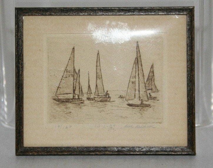 George Schlosser Marine Painting - 3