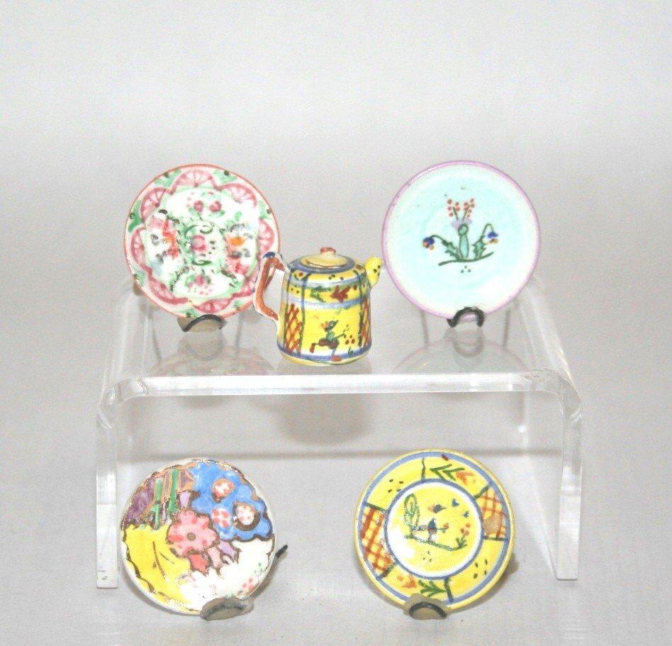 Dollhouse Miniature Elizabeth Chambers China