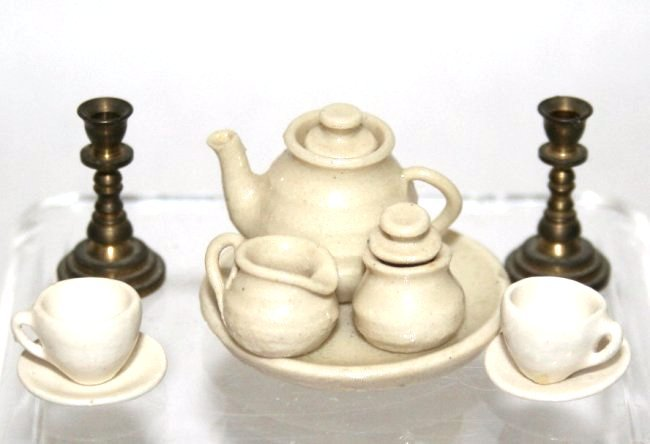 Artisan Tea Set and Others - 3