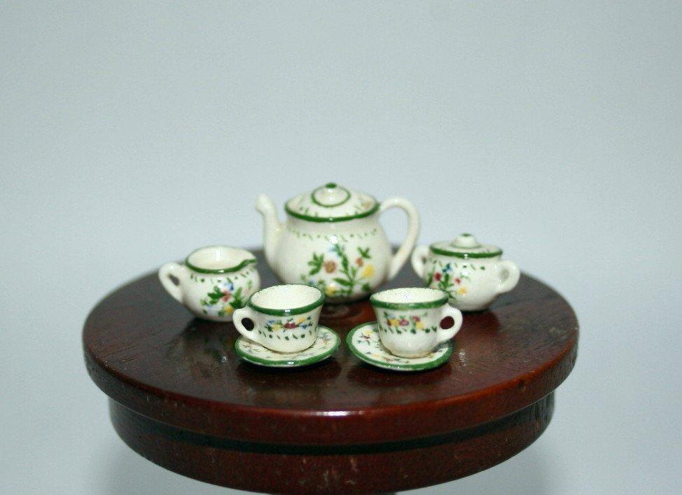 Jean Tag Tea Set - 2