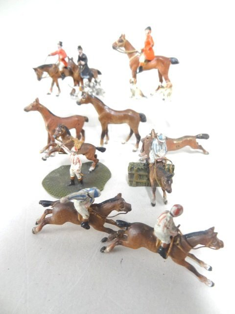 Vienna Bronze Hunt and Race Figures Joseph Gray