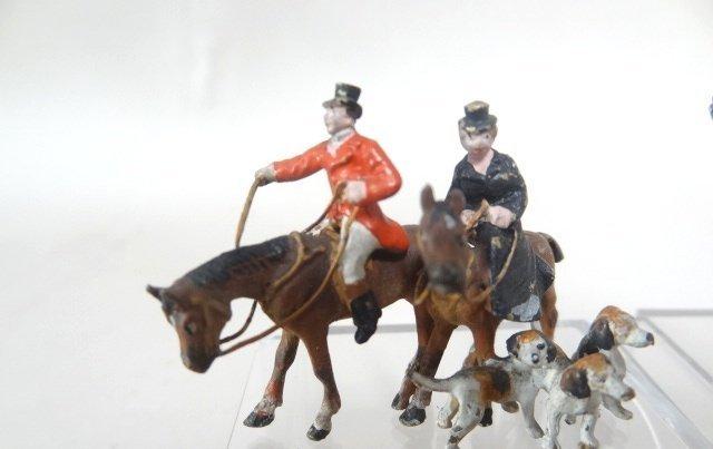 Vienna Bronze Hunt and Race Figures Joseph Gray - 2