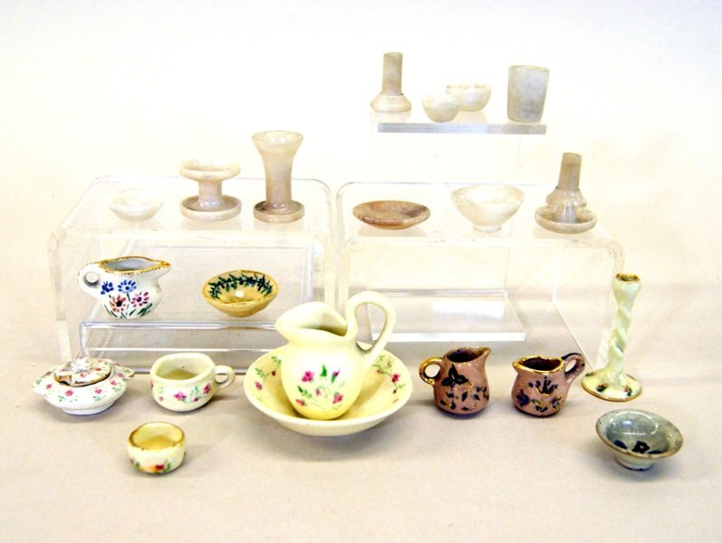 Dollhouse Miniature Porcelain Artist