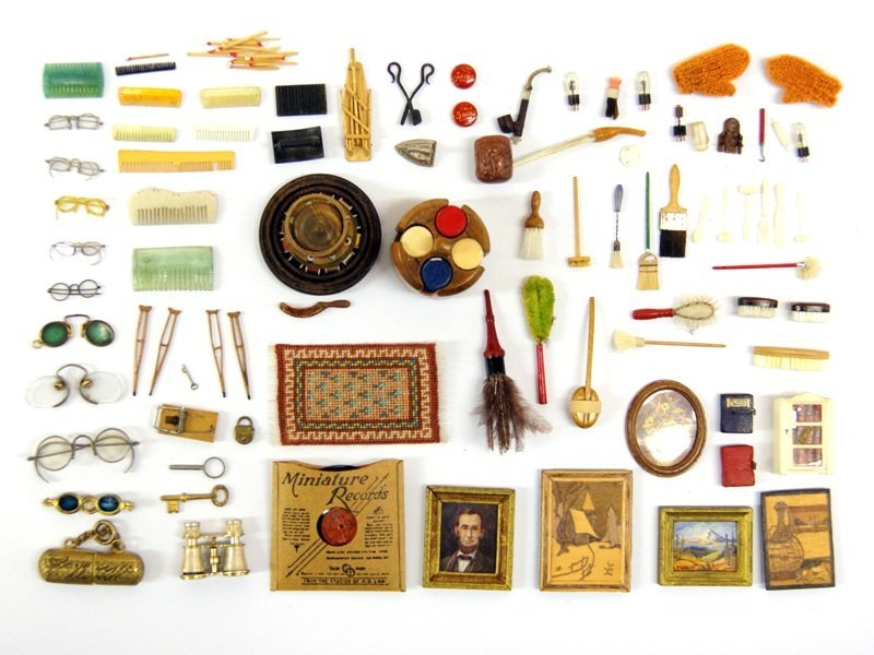 Dollhouse Miniature Accessories Possibly Frank Matter