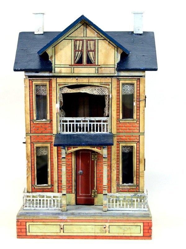 Gottschalk Blue Roof Doll House