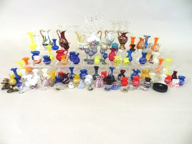 Dollhouse Miniature Glass Collection