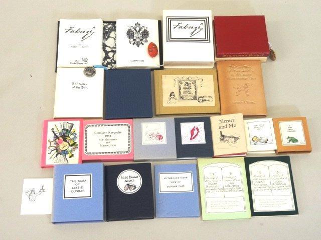 Lot of Miniature Books