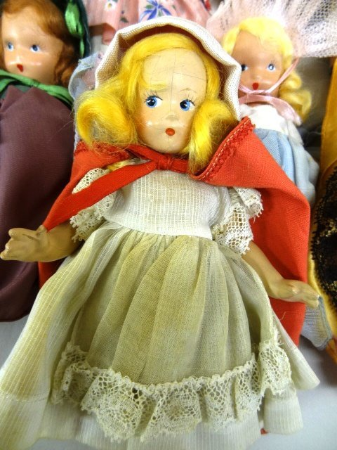 Storybook Doll Collection & Rare Alexander  Riding Hood - 2