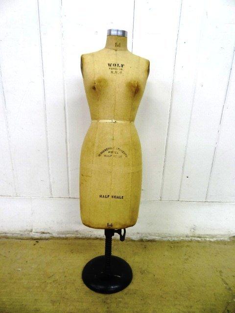 Salesman Sample Vintage Dress  Form