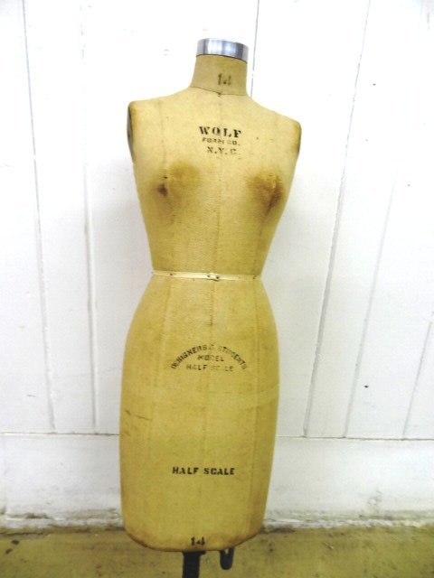 Salesman Sample Vintage Dress  Form - 2