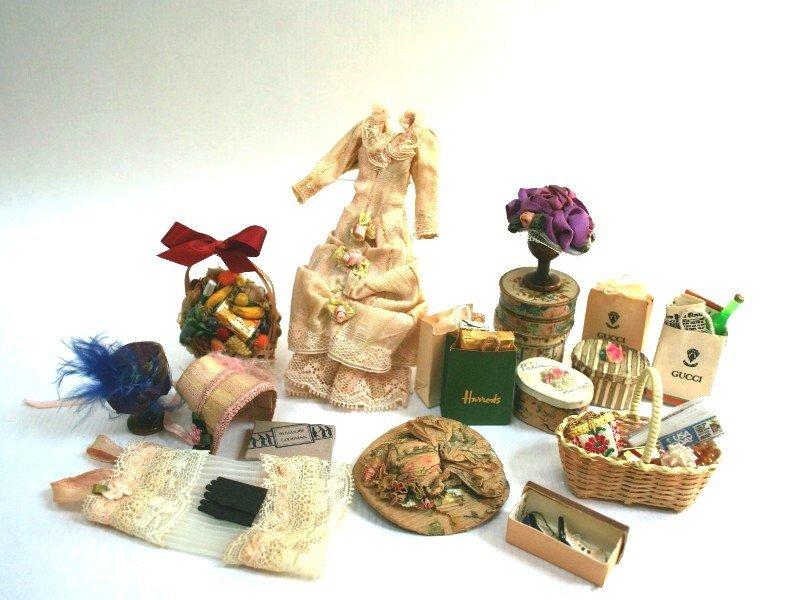 Dollhouse Miniature Lady's Millinery