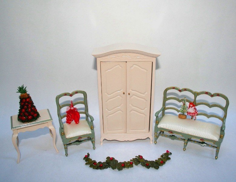 French Furniture and Christmas