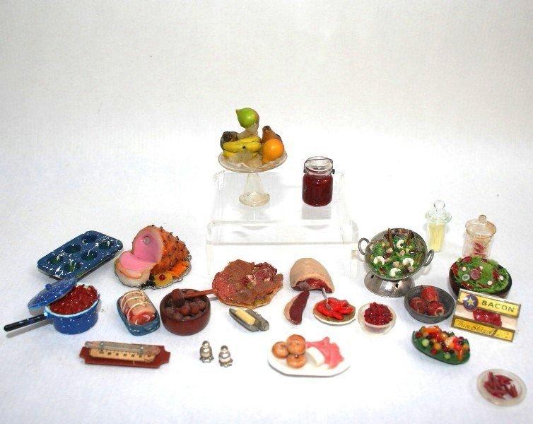Dollhouse Miniature Meal Prep