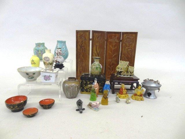 Dollhouse Miniature Oriental Collection