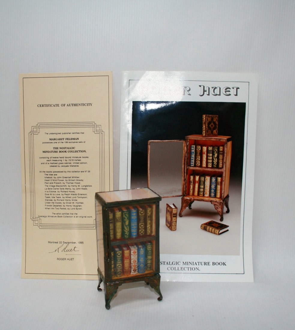 Roger Huet Book Collection