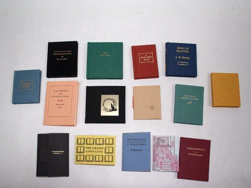 Miniature Book Society Mementos