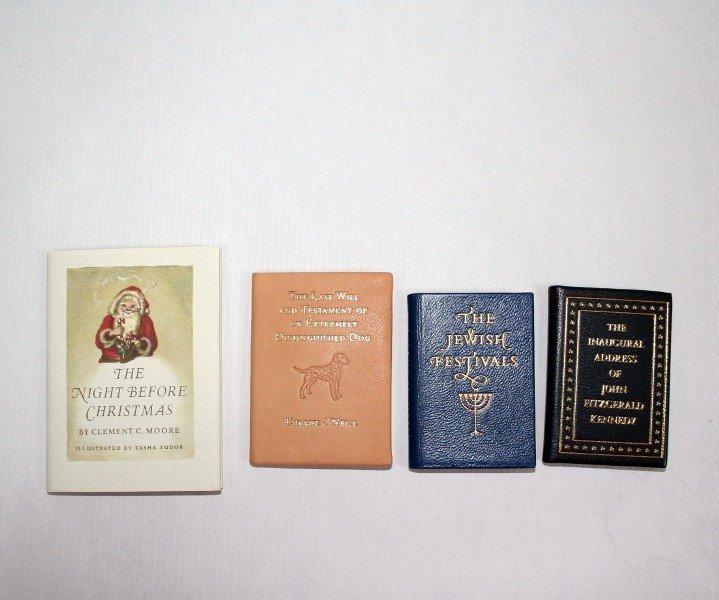 Achille St. Onge Miniature Books